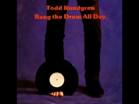 Todd Rundgren Bang On The Drum Lyric Video