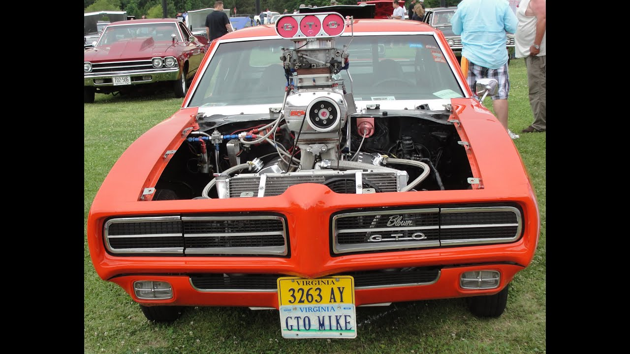 KILLER 69 PRO STREET GTO JUDGE * TWIN BLOWERS 2-4's START ...