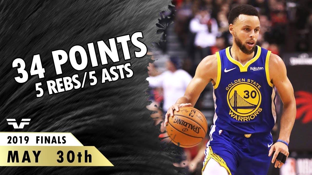 Stephen Curry Finals Game 5