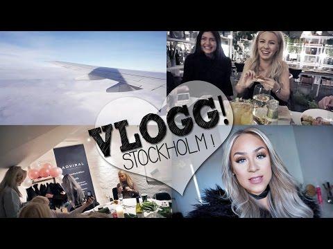 ♡ VLOGG! ♡ Event i Stockholm!!