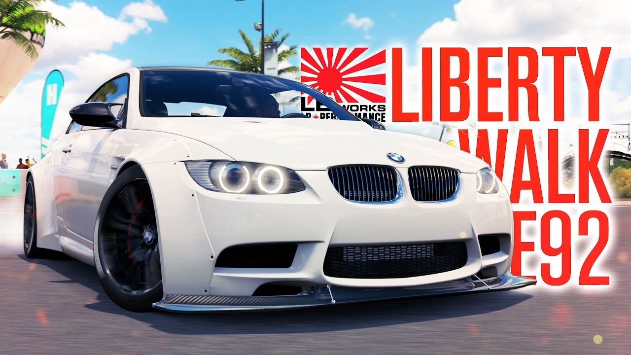 Liberty Walk Bmw M3 E92 Build Forza Horizon 3 Gameplay Youtube