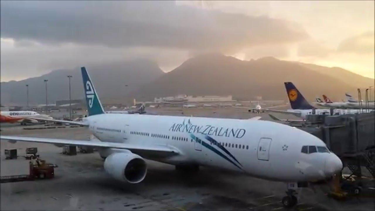 Air New Zealand B777 219er Hong Kong Auckland Full Flight