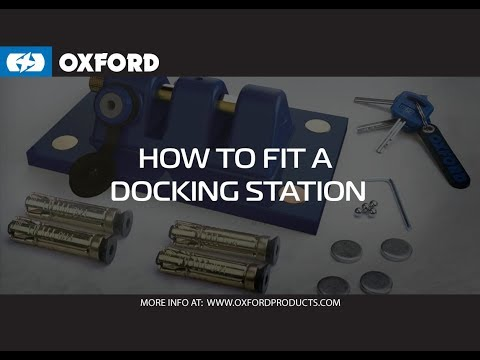 How to fit your Oxford ground anchor