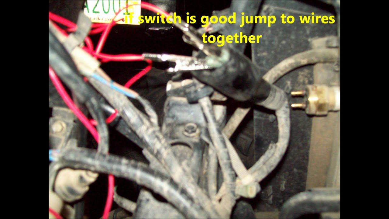 Wiring Fan Override Switch Including Cooling Fan Override Switch