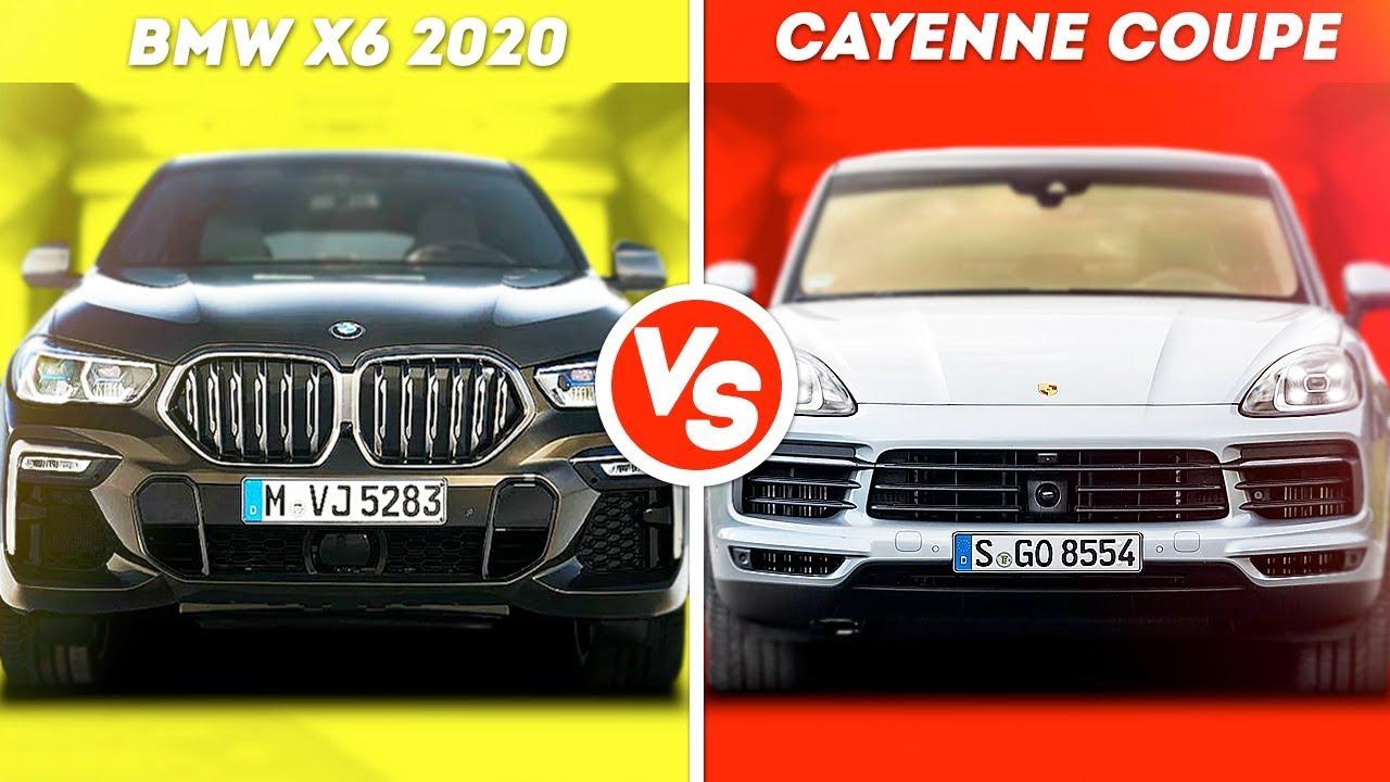 BMW X6 VS PORSCHE CAYENNE COUPE...ЧТО КРУЧЕ???