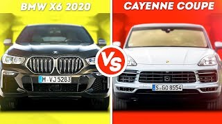 BMW X6 VS PORSCHE CAYENNE COUPE...ЧТО КРУЧЕ???