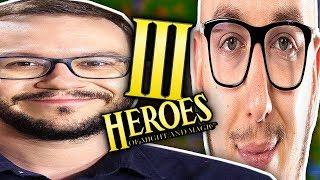 WYRZUCAMY SEBASTIANA w HEROES 3 z KOLEGĄ IGNACYM!