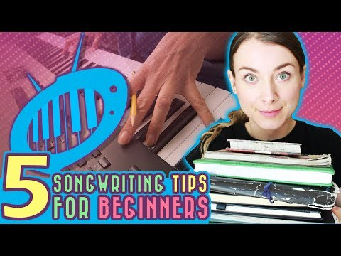 5 Songwriting Tips for Beginners