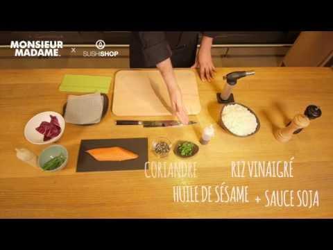 MasterClass - Sushi Shop X Monsieur Madame : Spring Tataki Saumon