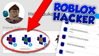 HACKING A ROBLOX HACKERS ACCOUNT...