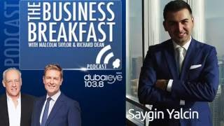 Saygin Yalcin on how to sell your car in Dubai, on the Business Breakfast Show
