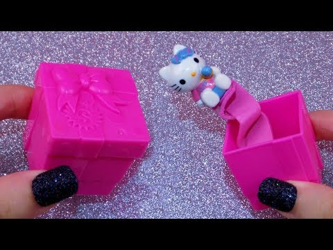 DIY Miniature Working Jack in the Box - How to Make LPS Crafts Stuff Barbie Doll Dollhouse Things