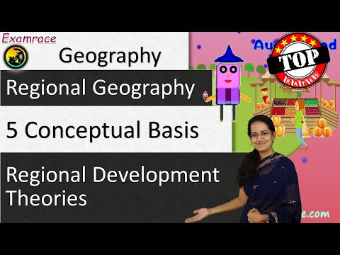 5 Conceptual Basis for Regional Development Theories