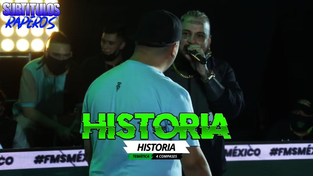 MINUTAZOS - LOBO ESTEPARIO Y GARZA (SUBTITULADO-LETRA) | Temática: Historia | FMS México Jornada 1