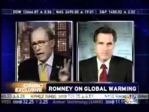 Mitt Romney talks Carbon Taxes & Global Warming in 2007