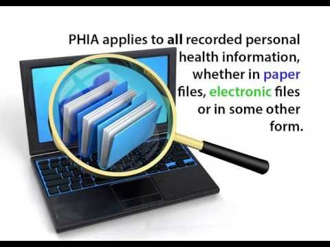 Accessing Your Personal Health Information Under PHIA