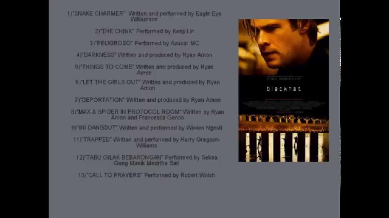 Action Movie Soundtrack List