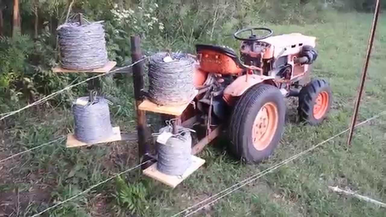 Unrolling Fence Wire Youtube