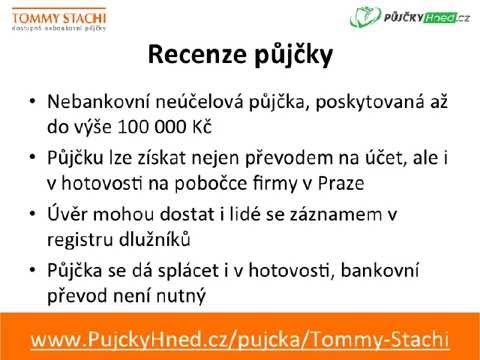 Tommy Stachi - Rychlá půjčka do 100 000 Kč - YouTube.