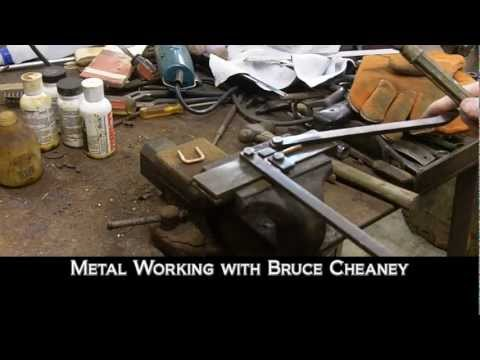 Metal Working - Handmade Tools for Dapping and Doming and Bending Steel Loops