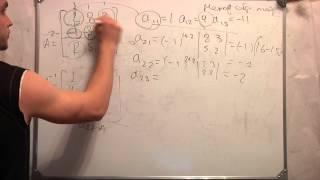 Метод Обратной матрицы.Система линейных уравнений. Ч 6.