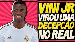 """Vinicius Jr é DETONADO no Real Madrid: """"Decepção, improdutivo, incapaz"""" - Entenda TODA A HISTÓRIA"""