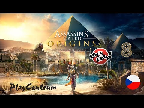 Assassin's Creed Origins CZ | Xbox One X - Enhanced Graphics | CZ Let's Play 8. část