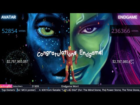 Avengers Endgame Vs Avatar Live Stream Highlight: Moment Endgame Beats Avatar