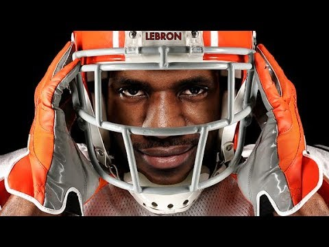 LeBron James Ultimate Football Highlights