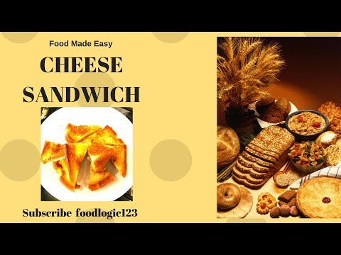 Grilled Cheese Sandwich| ग्रील्ड चीज़ सैंडविच|Recipe for Kids| Three Ingredients Sandwich