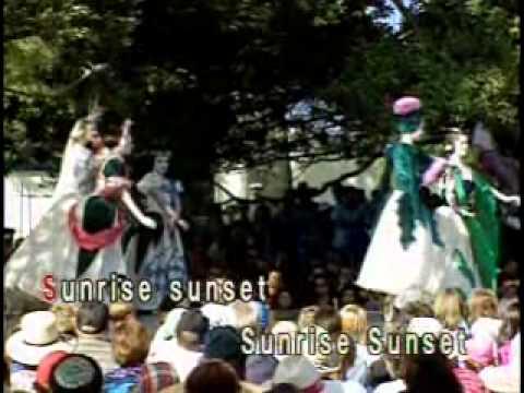 Sunrise Sunset Karaoke Honstar Youtube
