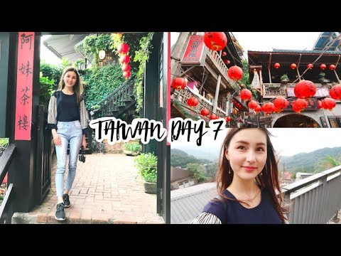 Taiwan Trip Day 7⎮Spirited Away Jiufen, Shifen lanterns, more amazing food & night market