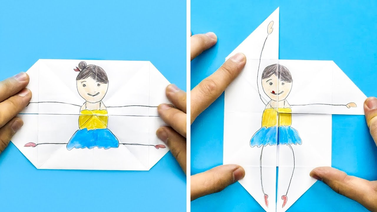 20 Totally Cool Paper Crafts Youtube