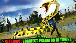 Angry Anaconda Attack 3D Android Gameplay