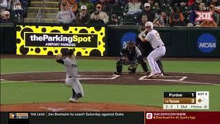Purdue vs Texas Baseball Highlights