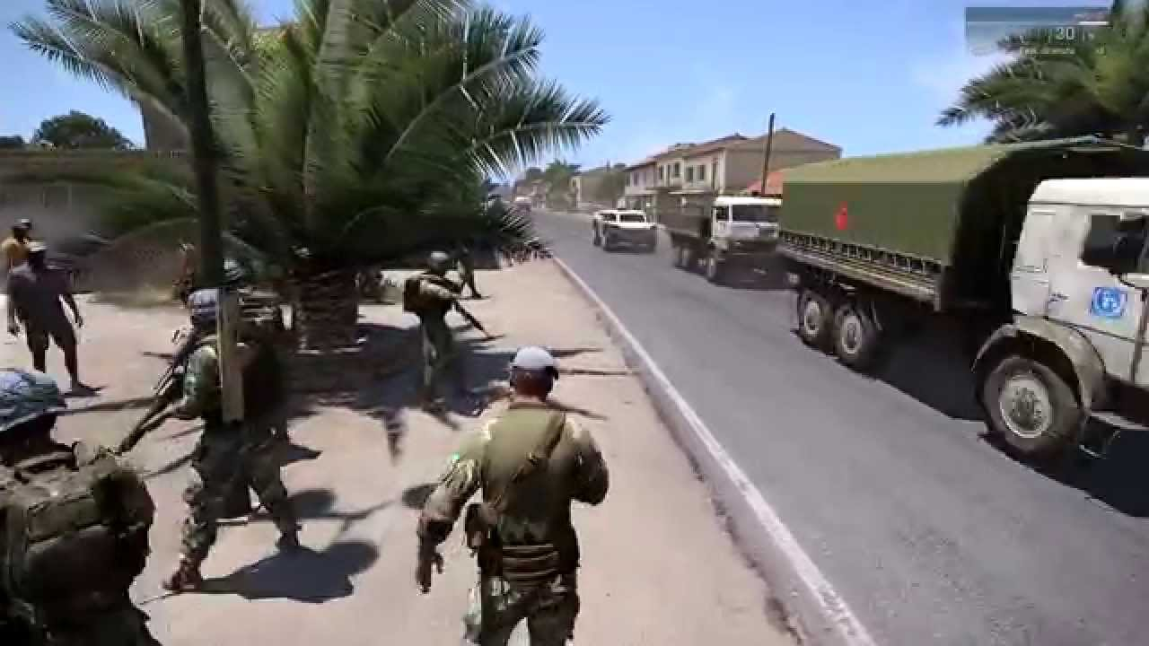 Arma3 African Conflict Short Clip YouTube