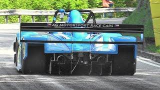 Best Hillclimb Starts at Verzegnis 2017!! - Hillclimb Monsters, Formula Cars, Prototypes & More!!