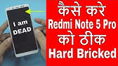 Redmi Note 5 Pro EDL Mode PINOUT (Emergency Download Mode) by