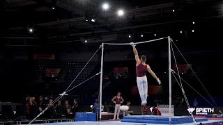 David Vecsernyes (HUN) HB - 2019 Worlds Stuttgart - Podium Training