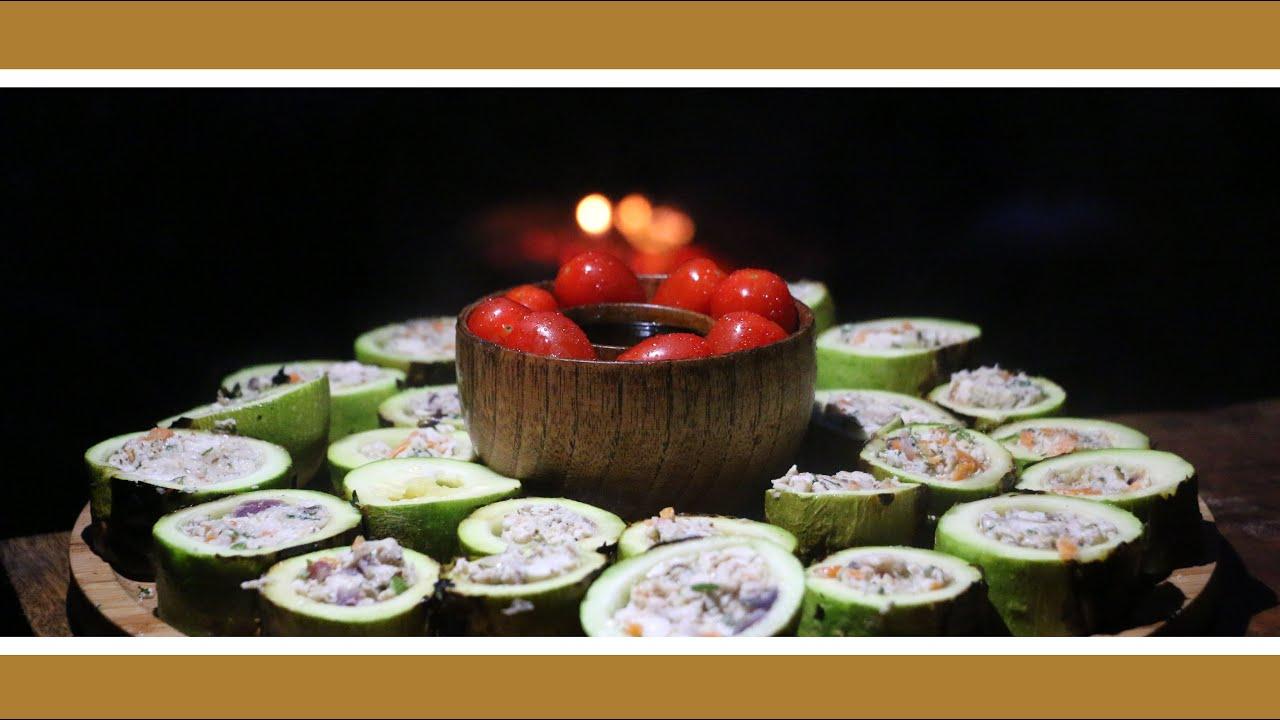 Chicken Zucchini Boats 🔥🐔❤️ الكوسا المحشية بالدجاج من أسهل و أشهى الأكلات