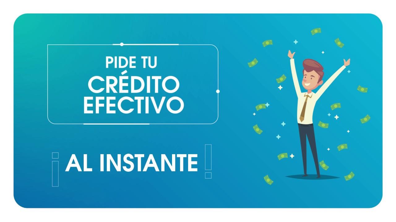 Tutorial Crédito Efectivo - YouTube