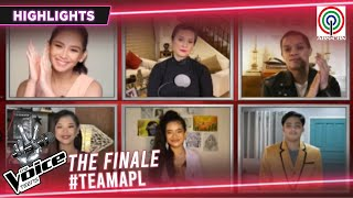 The Voice Coaches, humanga sa performance ng Team APL | The Voice Teens Philippines 2020