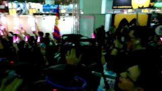 聲優歌手Pile 在台北國際動漫節中演出.