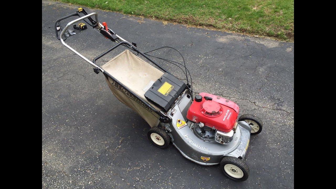Honda Hr215 Hx Lawn Mower You