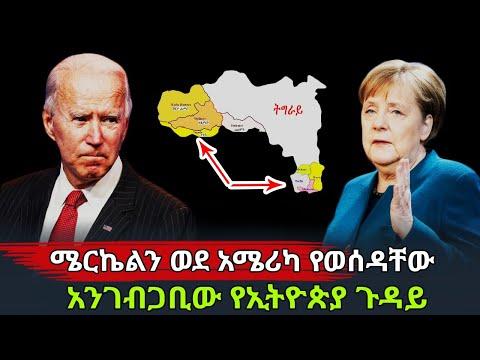 Ethiopia: ሜርኬልን ወደ አሜሪካ የወሰዳቸው አንገብጋቢው የኢትዮጵያ ጉዳይ