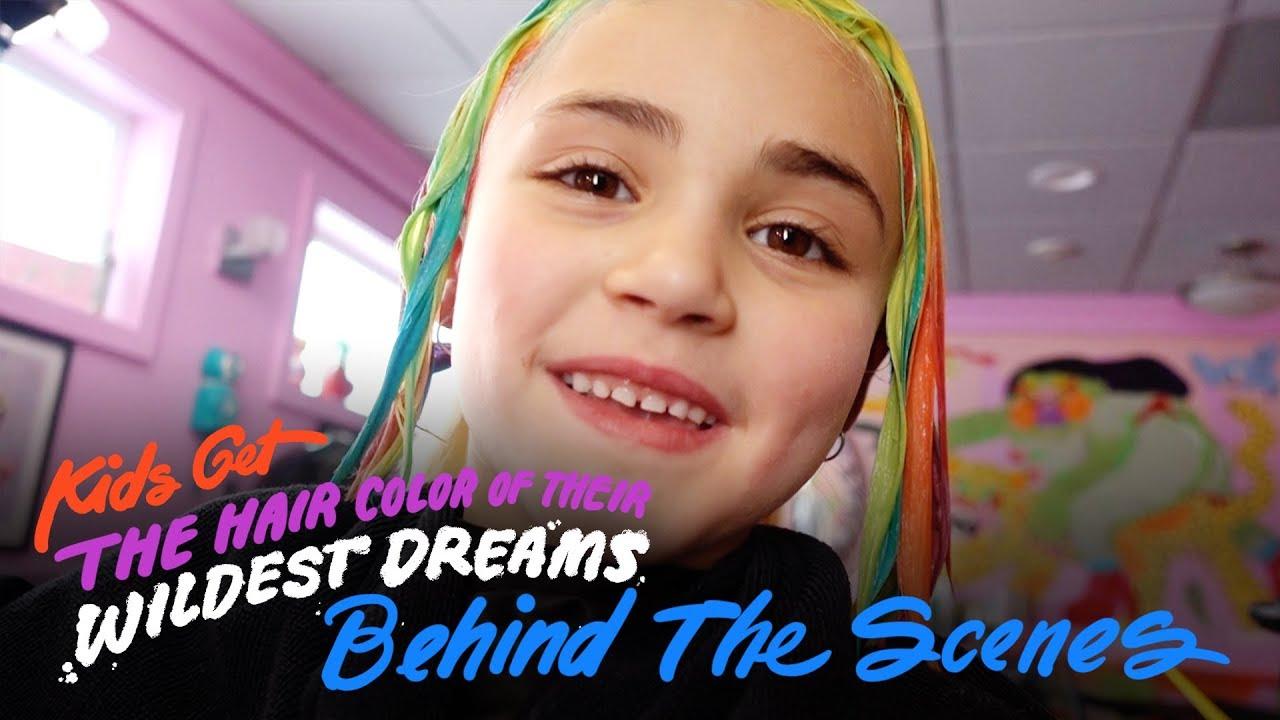 Kids Wild Hair Color Vlog Kids Hair Hiho Kids Youtube