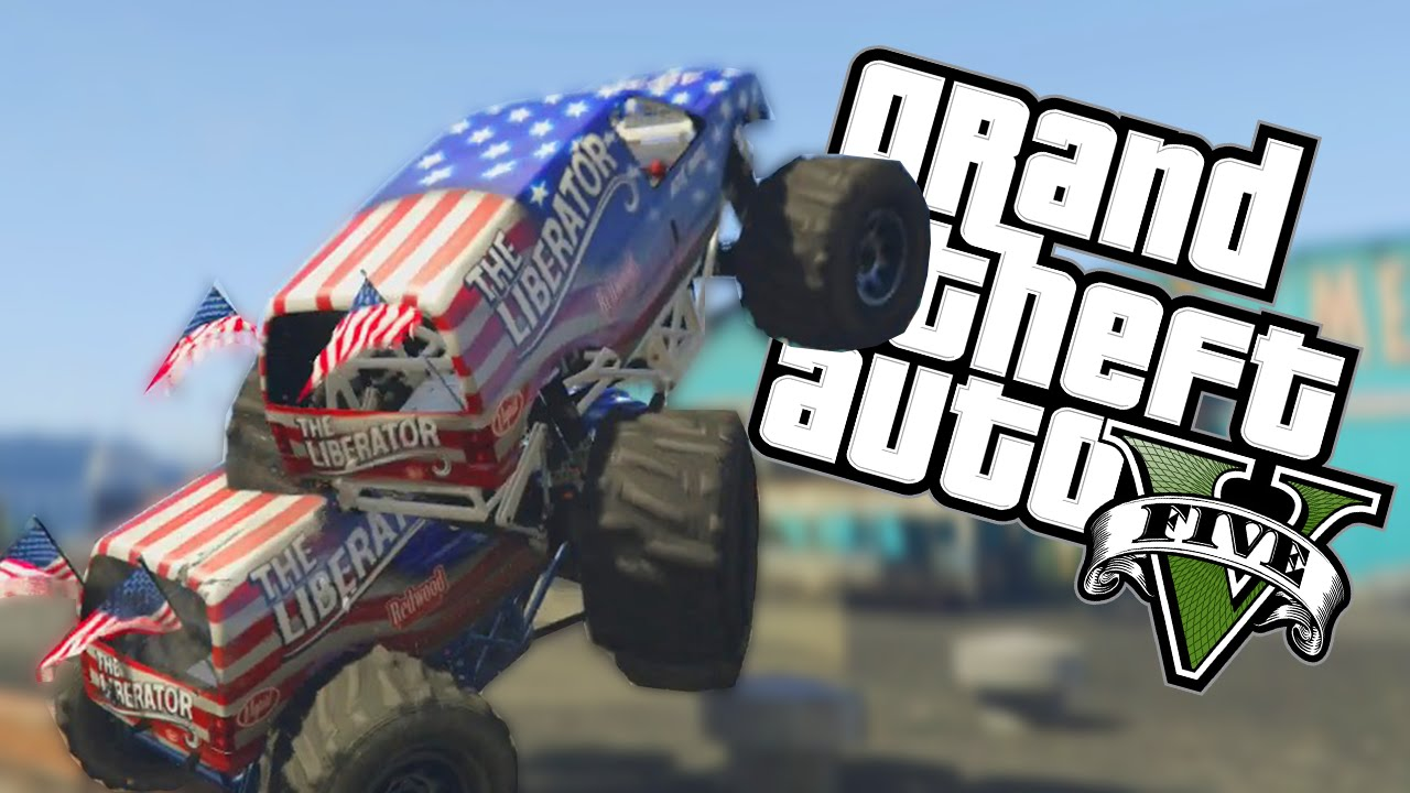 """Download GTA 5 Funny Moments - """"MONSTER TRUCK BABIES!"""" - #1 (GTA 5 Online Funny Moments)"""