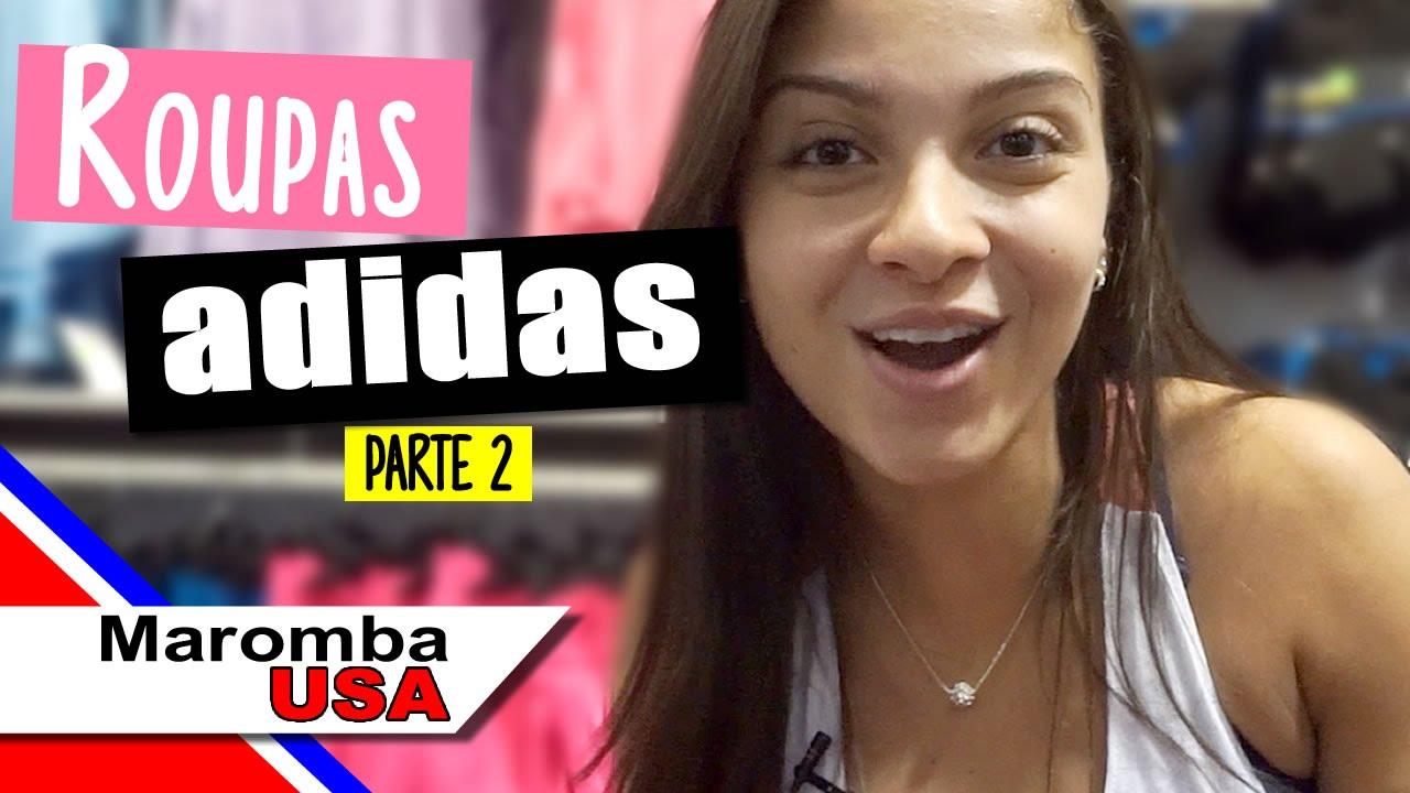 5870f58e99dc8 PRECOS NOS EUA - Roupas Fitness Femininas da Moda 2016 na Adidas Parte 2 -  YouTube