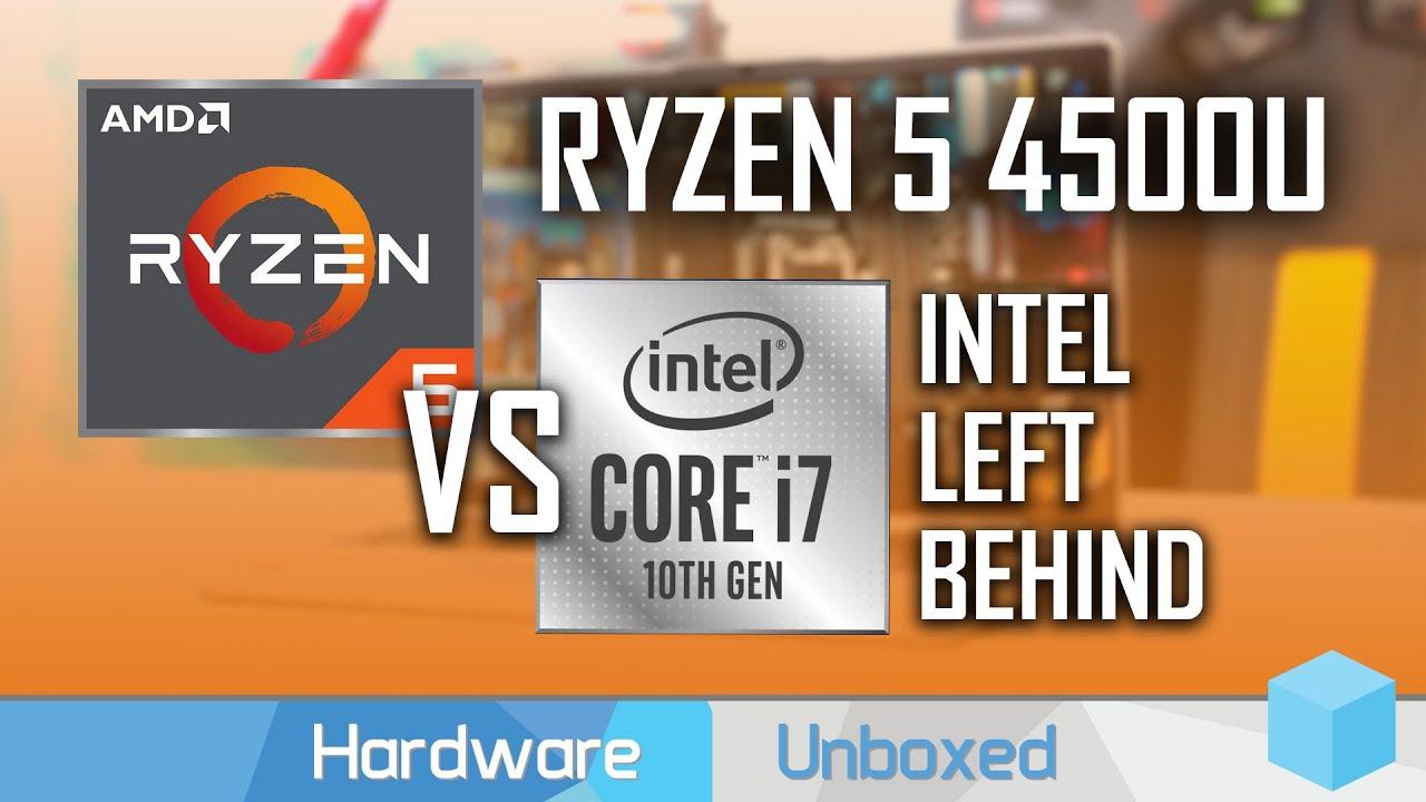 Amd Ryzen 5 4500u Review Mid Range Zen 2 Beats Intel S Best Youtube