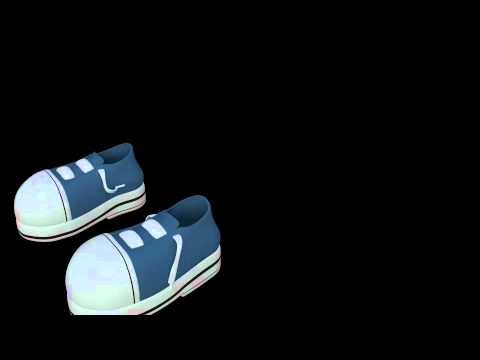 BORED - Shoe Lace Test Animation